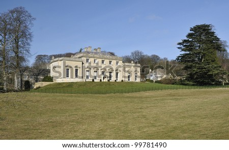 House at Rococo Gardens, Painswick, Gloucestershire
