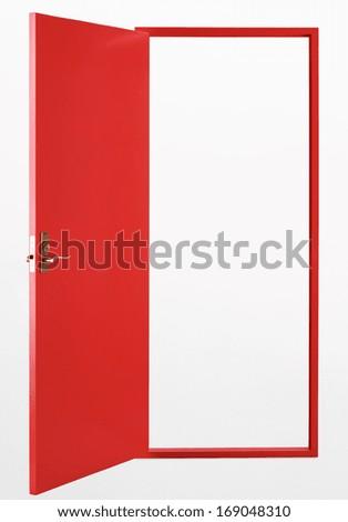 House door - stock photo
