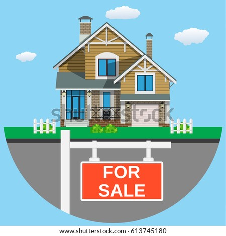 house sale icon web design application stock illustration 613745180