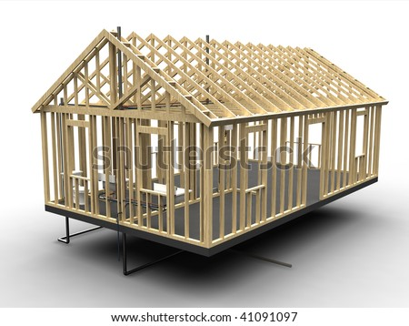 House Frame Stock Images Royalty Free Images Vectors Shutterstock