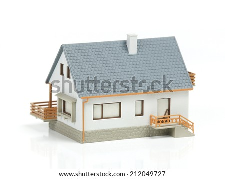 House House on white background