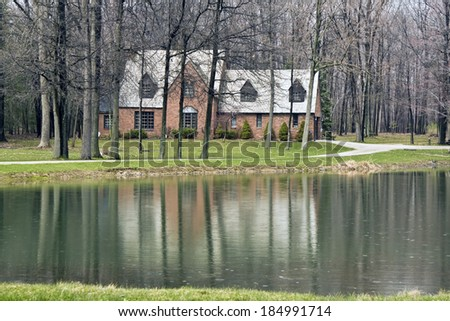 House in Cuyahoga Valley National Park - stock photo