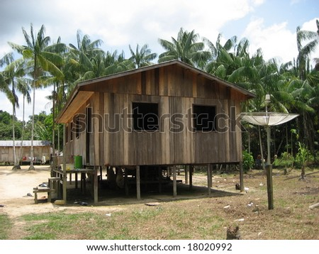 House in Jutaí­ - Amazonia