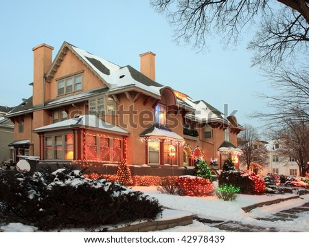 house in minneapolis with christmas lights - Christmas Lights Minneapolis