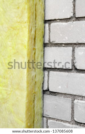house insulation - stock photo