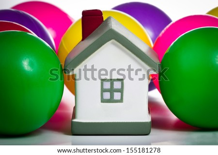 House insurance concept - stock photo