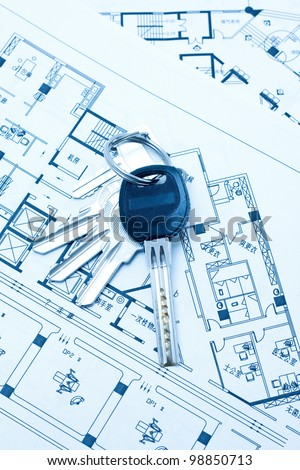 House keys and plan