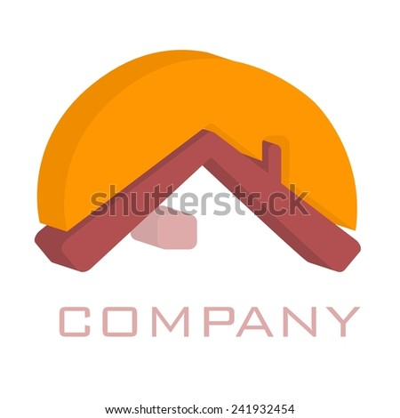 house logo - stock photo