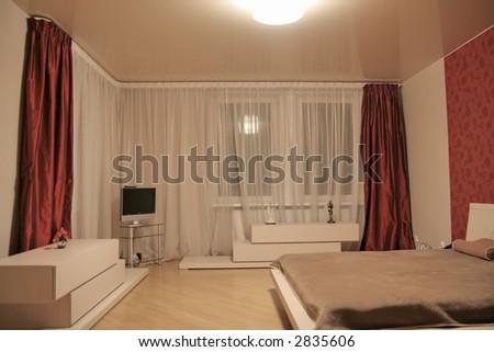 House modern interior - stock photo