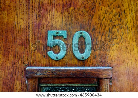 House number fifty (50)