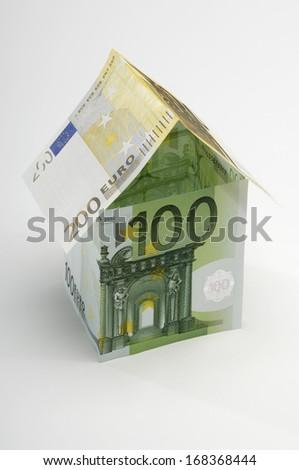 House of Paper Money - stock photo