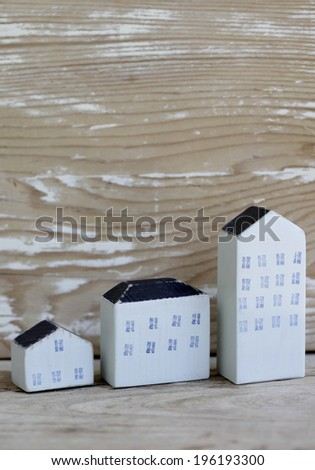 house of the miniature - stock photo