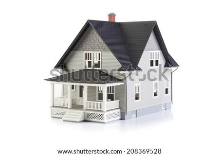 House on White - stock photo