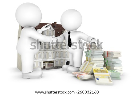 house purchase - stock photo
