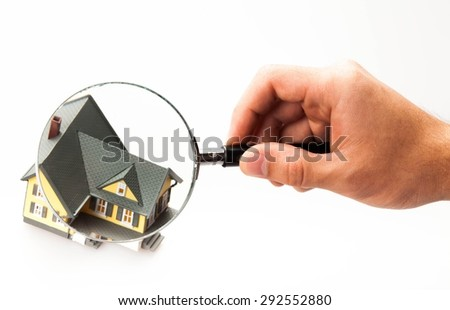 House, Residential Structure, Quality Control. - stock photo