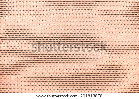 house roof top tile texture - stock photo