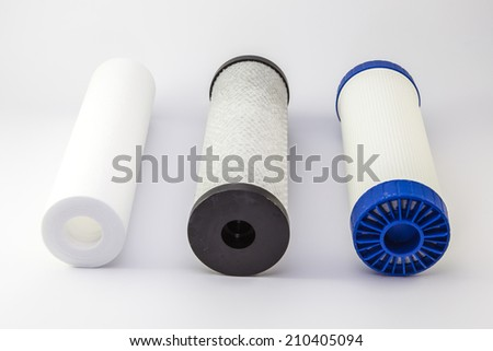 House water filter - stock photo
