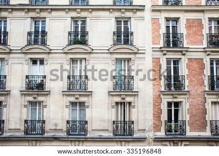 house window  and street