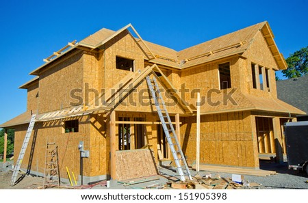 House- Wood Frame Construction