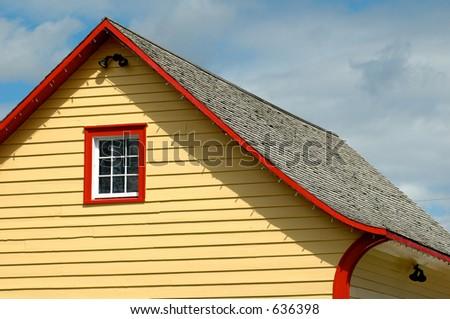 House Yellow - stock photo