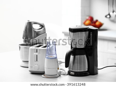Kitchen Appliances Stock Images, Royalty-Free Images & Vectors