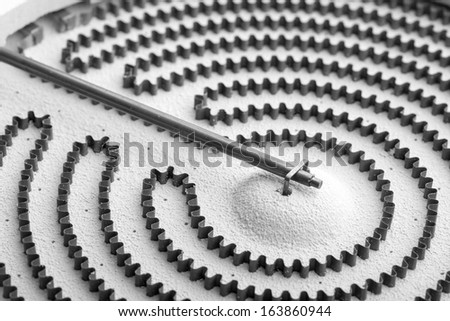 Household electric stove heater elements - stock photo