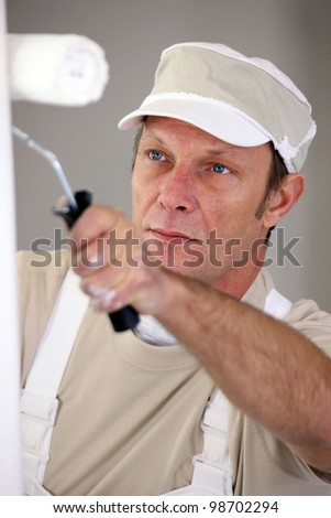 Housepainter - stock photo