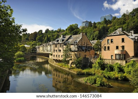 Luxembourg city stock images royalty free images for Luxembourg homes