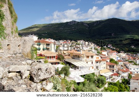 Houses from Parga ,Greece.