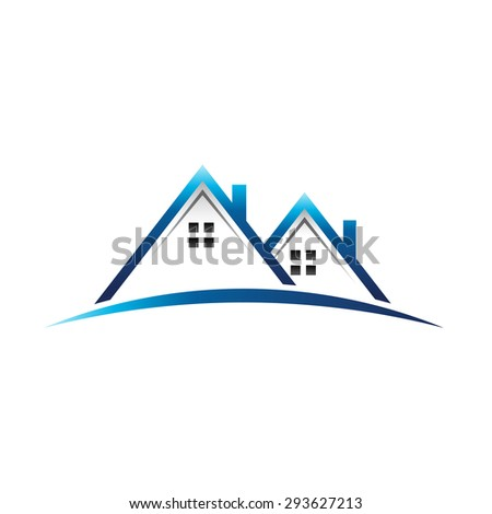 Houses logo real estate