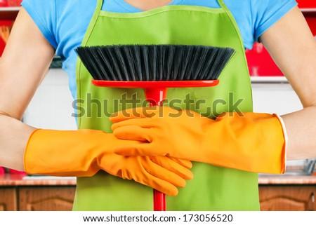 housework - stock photo