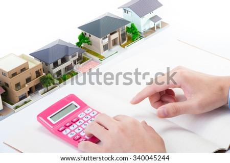Housing image - stock photo