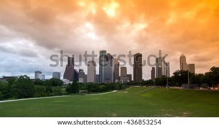 Houston, Texas - stock photo
