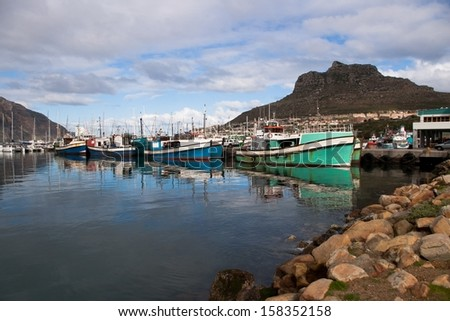 Hout Bay - South Africa - Fishing boat