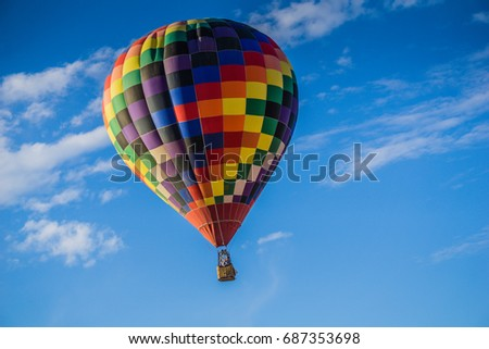 How Air Balloon over Lake Havasu