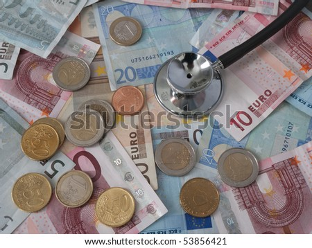 How healthy is your money - stock photo