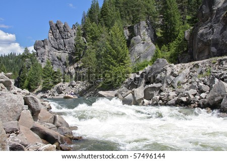 Howard's Plunge, Payette River, Idaho