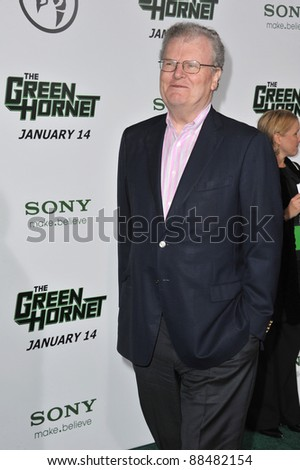 "Howard Stringer at the Los Angeles premiere of ""The Green Hornet"" at Grauman's Chinese Theatre, Hollywood. January 10, 2011  Los Angeles, CA Picture: Paul Smith / Featureflash"