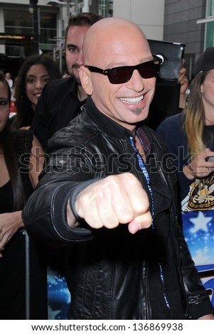 "Howie Mandel at the ""America's Got Talent"" Los Angeles Auditions, Pantages Theater, Hollywood, CA 04-24-13"
