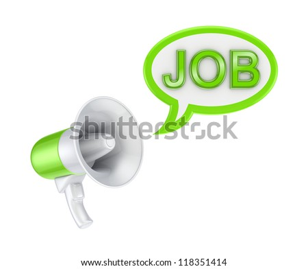 HR concept.Isolated on white background.3d rendered. - stock photo