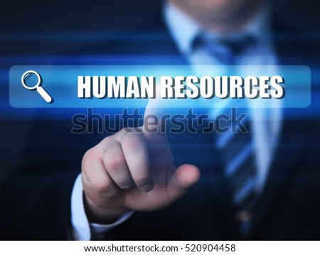 hr management, human resources, recruitment business concept.