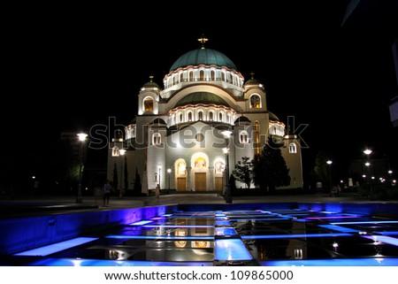Hram Sv. Save - stock photo