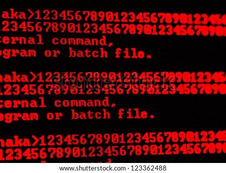 HTML codes - stock photo