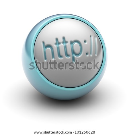 Http Full collection of icons like that is in my portfolio - stock photo