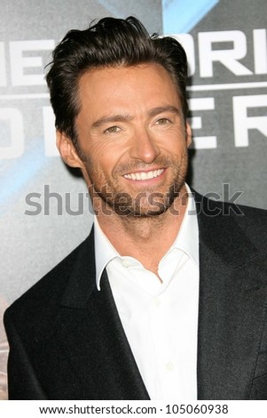 Hugh Jackman at the Industry Screening of 'X-Men Origins Wolverine'. Grauman's Chinese Theater, Hollywood, CA. 04-28-09 - stock photo