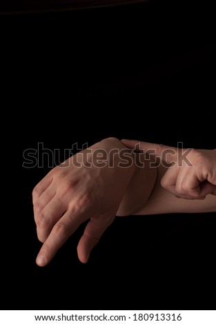 Human Anatomy Series Showing Caput Ulnae Foto de stock (libre de ...