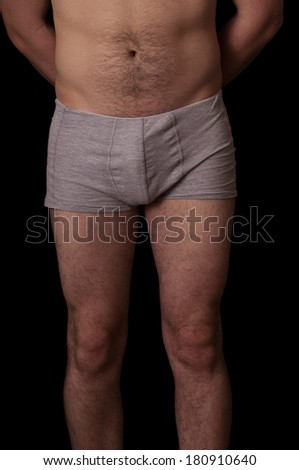 Human anatomy series: thighs, - stock photo