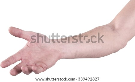 Human Arm - Isolated