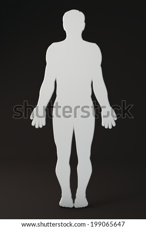 human outline stock images, royalty-free images & vectors, Muscles
