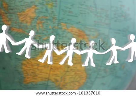 human chain around the world
